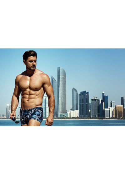 Man swim boxer - graphic print - SUNGA BOXER GRAFICA