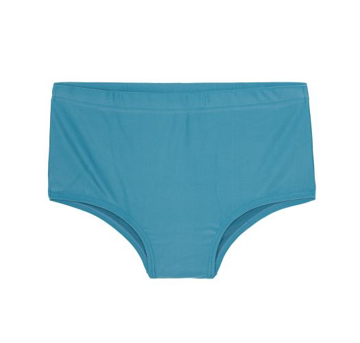 Plain blue men`s swimming trunks - SUNGA CLAUDIO