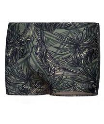 Comfortable man swim boxer - tropical khaki - SUNGÃO KAKI TROPIC