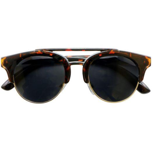 Gafas de sol con montura de concha y cristales con nivel de protección 3 - OLIVIA