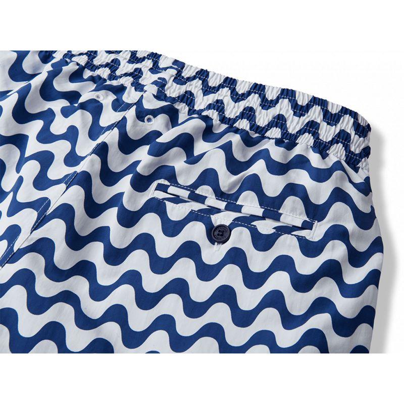 Vita och marinblå strandshorts - COPACABANA SPORT NAVY BLUE