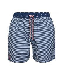 Swimming shorts in marine stripes - SWIM SHORTS ANCHOR CLASSIC