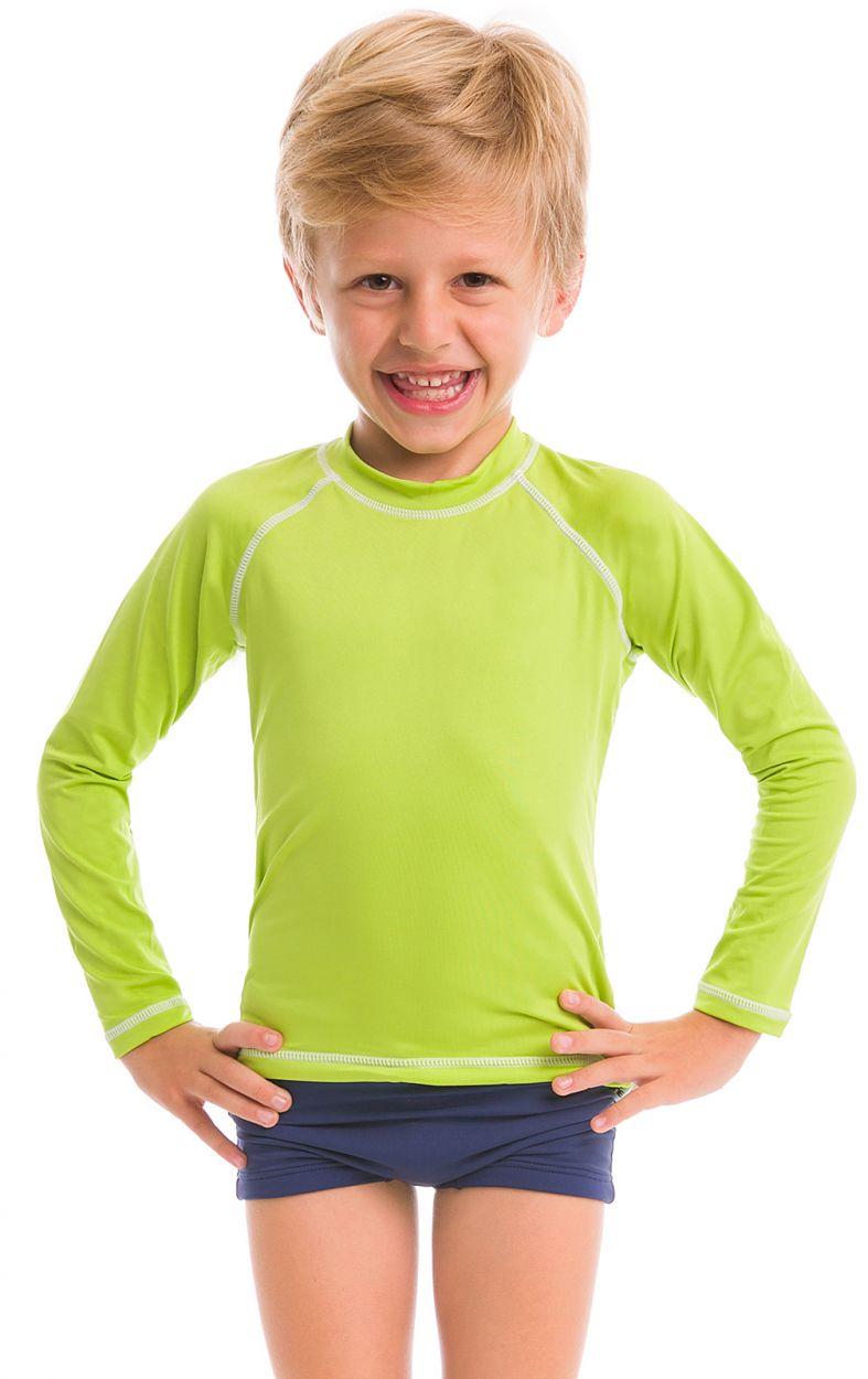 Lime long sleeve for kids - SPF50 - CAMISETA LIMA - SOLAR PROTECTION UV.LINE