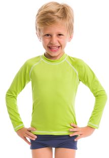 Lime long sleeve for kids - SPF50 - CAMISETA LIMA - SOLAR PROTECTION UV.LINE