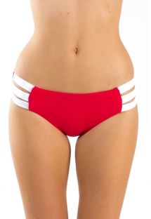 TIE RED AND WHITE BLOCK PARTY SEAFOLLY
