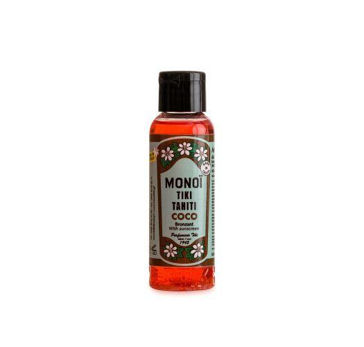 Масло моной с ароматом кокоса, солнцезащитный фактор - MONOП TIKI COCO SOLAIRE IND SPF 3