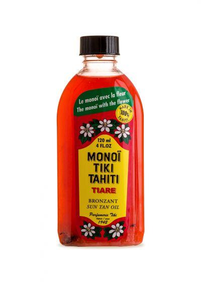 Autentisk Tahitian Monoi med Tiare blomman - MONOÏ TIKI TIARÉ SOLAIRE INDICE 3 120ML