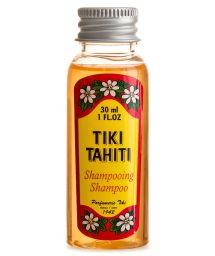Shampooing au monoï, parfum tiaré, format voyage - SHAMPOING TIKI TIARE 30ml