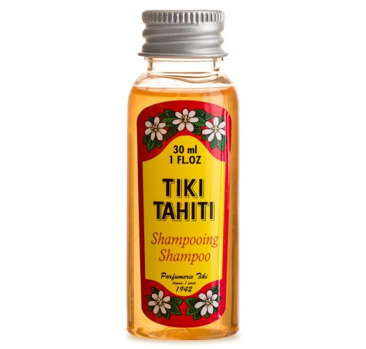 Šampon Monoi z vonjem cvetlice tiare v velikosti, primerni za potovanja - SHAMPOING TIKI TIARE 30ml