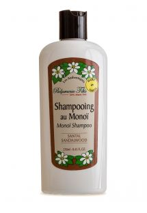 Shampoo enriched with monoi oil, sandalwood fragrance - SHAMPOOING TIKI AU MONOI SANTAL 250ML