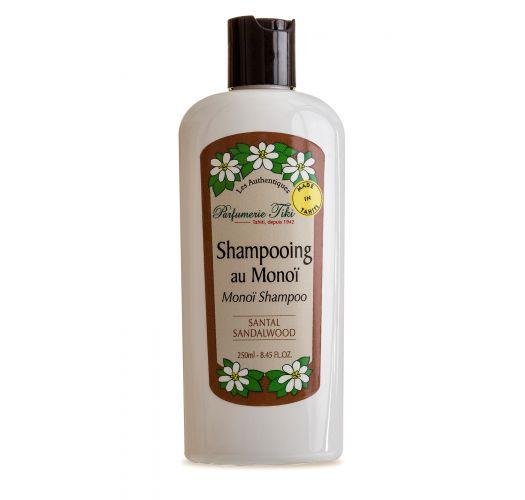 Ar monoī eļļu bagātināts šampūns, sandalkoka aromāts - SHAMPOOING TIKI AU MONOÏ SANTAL 250ML