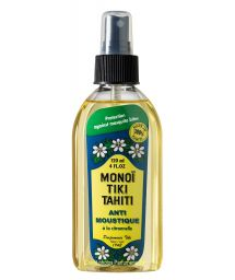Monoi-Öl mit Zitronengrasduft, Mücken abweisend - Tiki Monoi ANTIMOUSTIQUE 120 ml