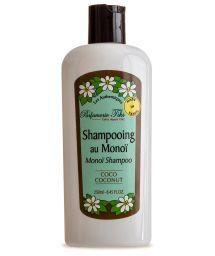 Shampoo mit Monoi-Öl aus Tahiti, Kokus-Duft - TIKI SHAMPOING MONOI COCO 250ml
