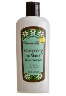 Šampon Monoi de Tahiti s vůní kokosu - TIKI SHAMPOING MONOI COCO 250ml
