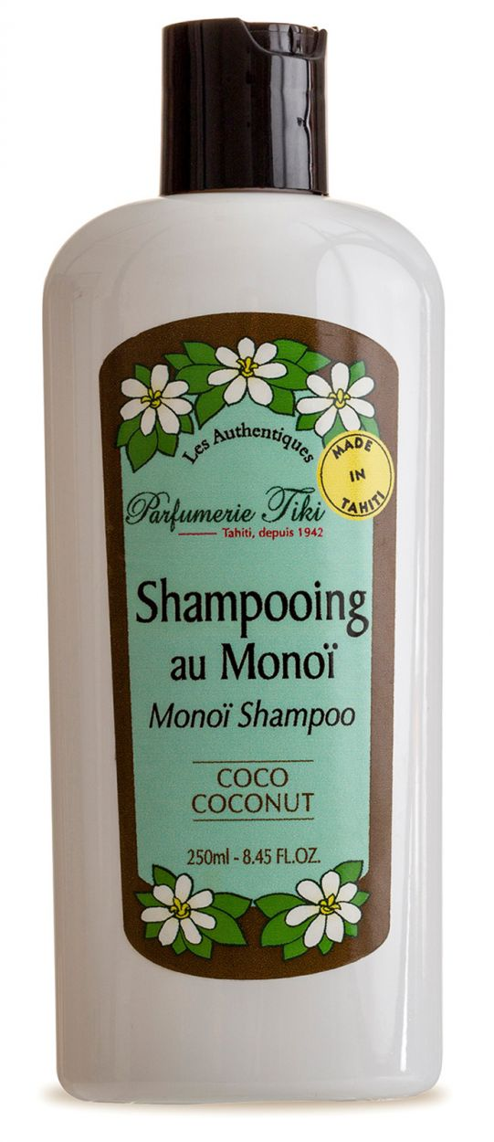 Kokosnöts doftande Monoi de Tahiti schampo - TIKI SHAMPOING MONOI COCO 250ml