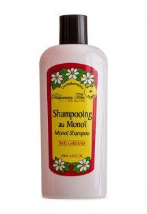 Tiaré fragrance shampoo, enriched with monoï, no parabens - TIKI SHAMPOING MONOI TIARE 250ml