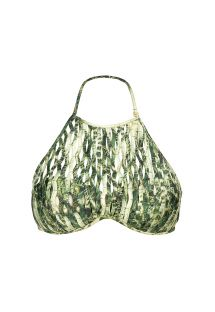 Grön bandeau bikini övredel smyckad med band - SOUTIEN CACTO BOLA