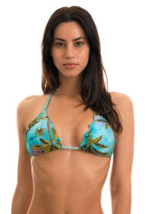 BBS X RIO DE SOL - Triangel-Top, Tropenprint - TOP POR DO SOL FRUFRU