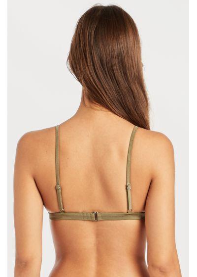 Khaki triangle top with adjustable straps - SOL SEARCHER HI TRI SAGE