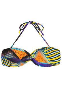 Bikiniöverdel bandeau - SOUTIEN AQUARIOS CORAL