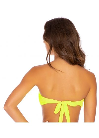 TOP FREE FORM NEON YELLOW PURA CURIOSIDAD