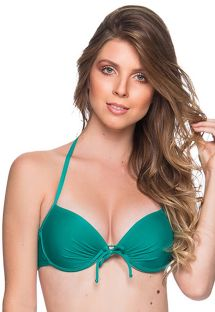 Green underwired push-up balconette - TOP BOLHA ARQUIPELAGO
