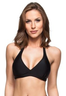 Black halter bikini top - TOP DESERTO DO ATACAMA