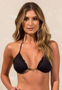 Triangle bikini top wavy edges - TOP BIQUINI SHOPHIA PRETO