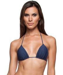 Navy blue sliding triangle top - SOUTIEN IGUAL MARINHO