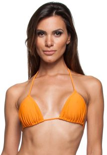Orange sliding triangle top - SOUTIEN IGUAL PLAGE
