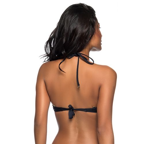 Black push-up balconette top - TOP BOLHA PRETO