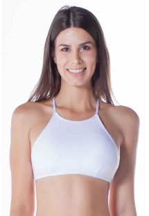 TOP CROPPED FRENTE �NICA BRANCO