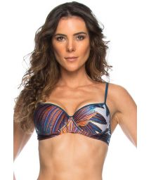Printed underwire top - TOP FEATHER STAR
