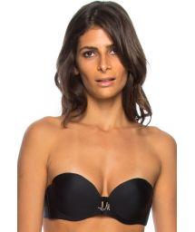 Black bandeau bikini top underwire - TOP GRECIA ANTIGA