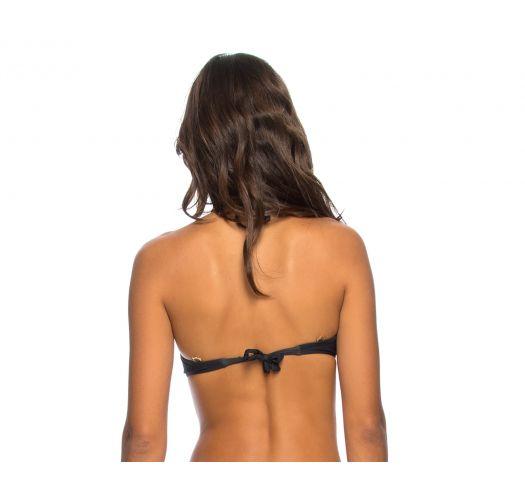 Plum color balconette push-up bikini top - TOP PRAIA DA SEREIA