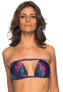 Strappy original bandeau bikini top - TOP PRAIA DO FRANCES