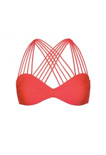 Bandeau bikini top - MULTI CROSS BOMBSHELL