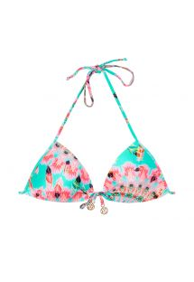 Haut de maillot triangle push up pastel - SOUTIEN DREAMCATCHER
