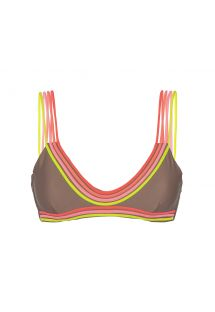 Unusual strappy bra-style swimsuit top - SOUTIEN UNSTOPPABLE