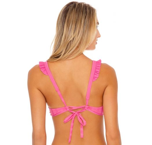 TOP BANDED PINK BACHELORETTE