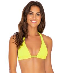 TOP FULL NEON YELLOW PURA CURIOSIDAD