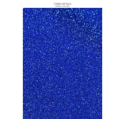 TOP HALTER STARDUST ROYAL BLUE