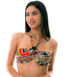 BBS X LULI FAMA - Underwired bandeau multi-position bikini top - TOP RUMBA STRAPPY