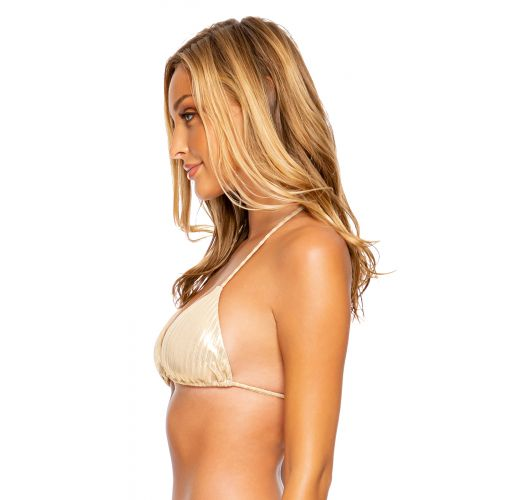 TOP SEAMLESS GOLD DIPPED