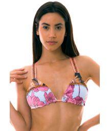 BBS X MAAJI - triangle printed bikini top - TOP DIVINA PALM