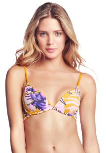 Reversible adjustable yellow bra bikini top - TOP FARRAH´S LOVELY