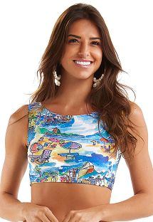 TOP CROPPED AQUARELA RIO