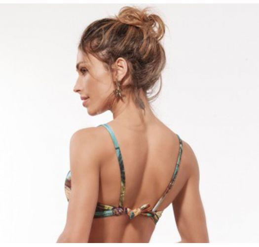 Bra bikini top in tropical print - TOP MARRAKESH TROPICAL