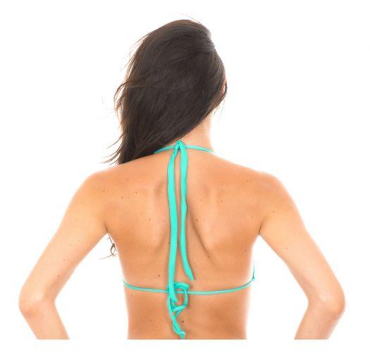 Sea green push-uptriangle bikinitop - MARE CORTINAO