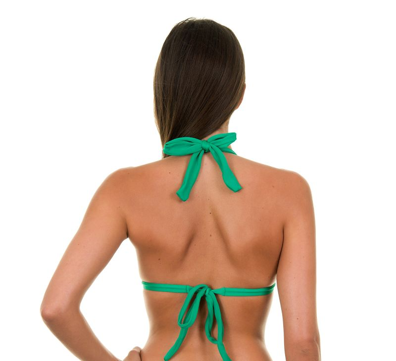 Grøn polstret trekant bikini-top - PETERPAN TRI FIXO